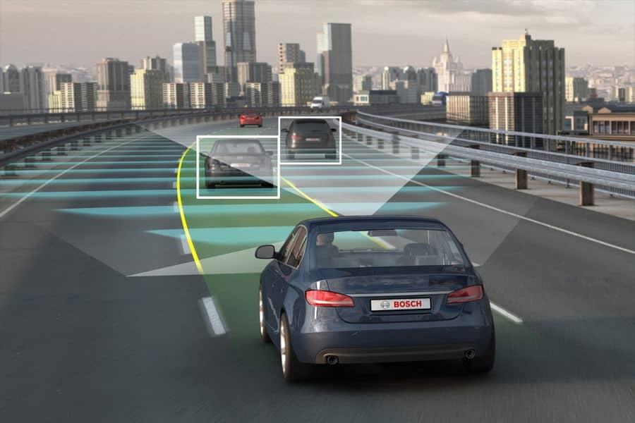 Partnerschaft: Google und Fiat Chrysler haben beschlossen, gemeinsam selbstfahrende Autos zu bauen. Foto: Bosch