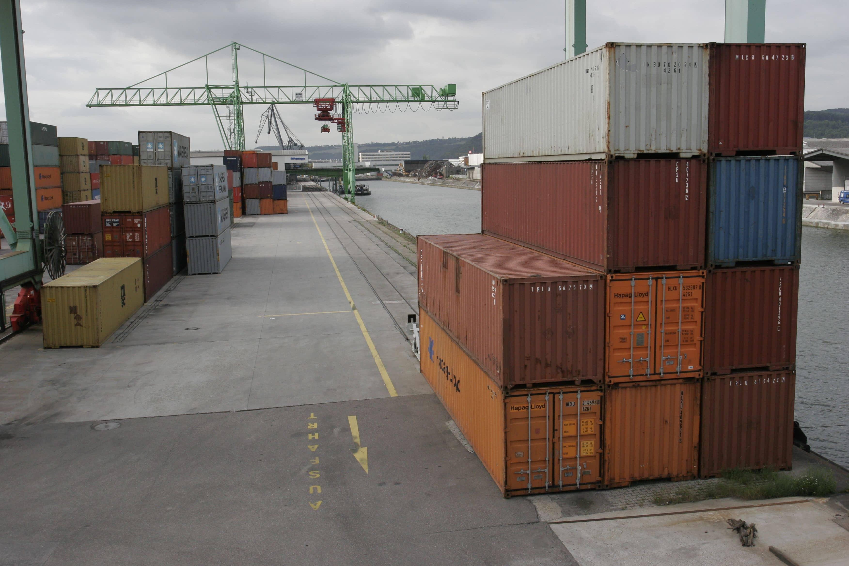 Container bestimmen den Welthandel, bergen gleichzeitig aber auch viele Gefahren. Foto: Matthias Rathmann